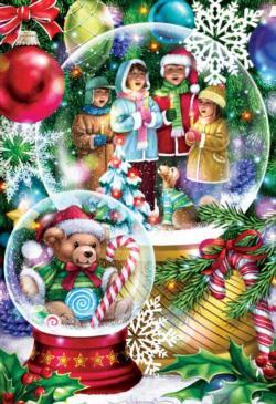 Snow Globes Christmas Jigsaw Puzzle