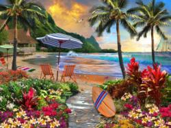 Hawaiian Life Seascape / Coastal Living Jigsaw Puzzle