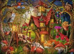Sleepy Time Forest Jigsaw Puzzle