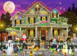 Happy Holidays Christmas Jigsaw Puzzle