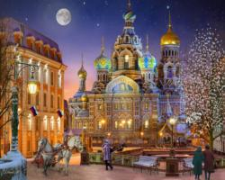 Russia with Love Russia Jigsaw Puzzle