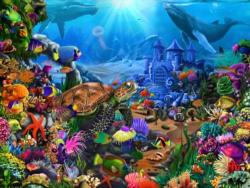 Magical Undersea Turtle - Scratch and Dent Turtles Jigsaw Puzzle