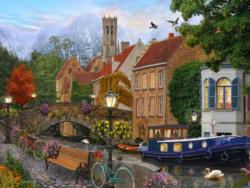 Canal Living Lakes / Rivers / Streams Jigsaw Puzzle