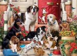 A Dog's Life Domestic Scene Jigsaw Puzzle