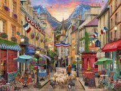 French Village Paris Jigsaw Puzzle