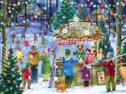 Winterfest Christmas Jigsaw Puzzle