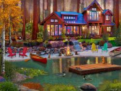 Cottage Life Seascape / Coastal Living Jigsaw Puzzle