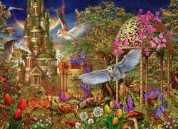 Woodland Fantasy Forest Jigsaw Puzzle