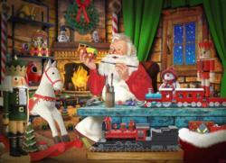 Santa's Toyworks Christmas Jigsaw Puzzle