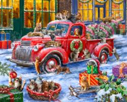 It's a Cat's Christmas  Christmas Jigsaw Puzzle