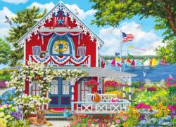 Summer Welcome  Seascape / Coastal Living Jigsaw Puzzle