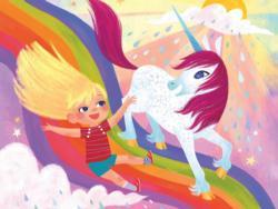 Rainbow Slide Unicorns Children's Puzzles