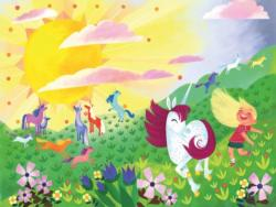Unicorn Frolic Unicorns Children's Puzzles