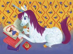 Reading Time Unicorns Children's Puzzles