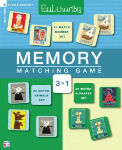 Memory Matching Game - Paul Thurlby Jigsaw Puzzle