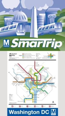 Washington DC Mini Puzzle Maps / Geography Miniature Puzzle