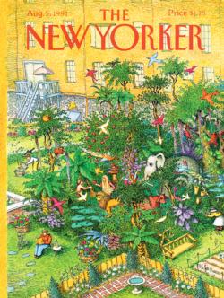 Concrete Jungle (The New Yorker) Nostalgic / Retro Jigsaw Puzzle