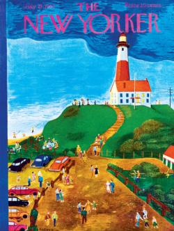 The Lighthouse Seascape / Coastal Living Jigsaw Puzzle