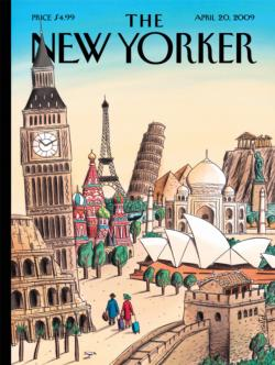 Ultimate Destination (The New Yorker) Magazines and Newspapers Jigsaw Puzzle