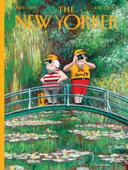J'?  Monet (The New Yorker) Magazines and Newspapers Jigsaw Puzzle