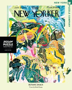 Botanic Snack (The New Yorker) Magazines and Newspapers Jigsaw Puzzle