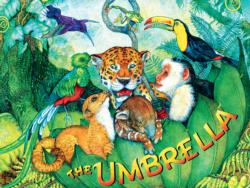 The Umbrella Jungle Animals Jigsaw Puzzle