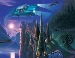 Enchanted Car Mini Puzzle (Harry Potter) Harry Potter Miniature
