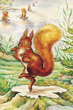 Squirrel Nutkin (Mini) Movies / Books / TV Children's Puzzles