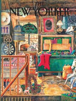 Christmas Attic Christmas Jigsaw Puzzle