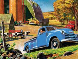 Barnyard Pickup Vehicles Jigsaw Puzzle