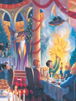 Christmas at Hogwarts Harry Potter Jigsaw Puzzle