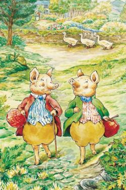 Pigling Bland & Alexander (Mini) Pig Children's Puzzles