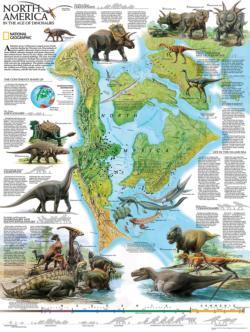 North American Dinosaurs Dinosaurs Jigsaw Puzzle