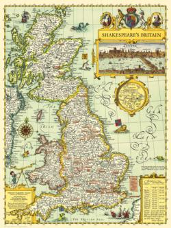 Shakespeare's Britain Europe Jigsaw Puzzle