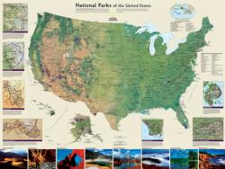 American National Parks National Parks Jigsaw Puzzle