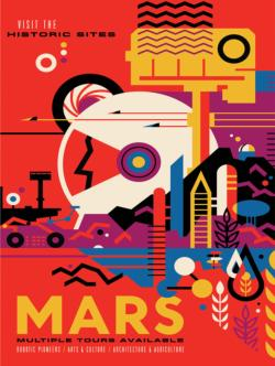 Visit Mars Magazines and Newspapers Jigsaw Puzzle