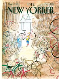 Bicycle Shop Magazines and Newspapers Jigsaw Puzzle