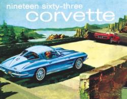 1963 Corvette (Mini) Nostalgic / Retro Jigsaw Puzzle