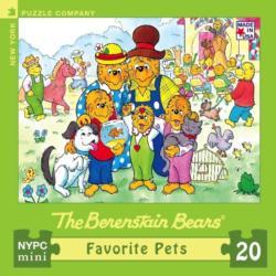 Favorite Pets (Mini) Berenstain Bears Miniature Puzzle