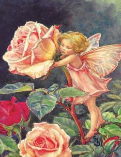 Rose Fairy (Mini) Fairies Miniature Puzzle