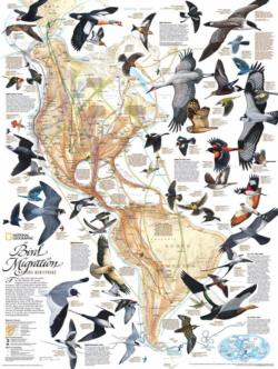 Bird Migration Magazines and Newspapers Jigsaw Puzzle