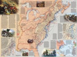 American Revolution Magazines and Newspapers Jigsaw Puzzle