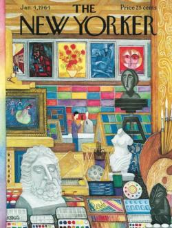 Art Shop Magazines and Newspapers Jigsaw Puzzle