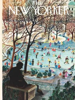 Skating in the Park New York Jigsaw Puzzle