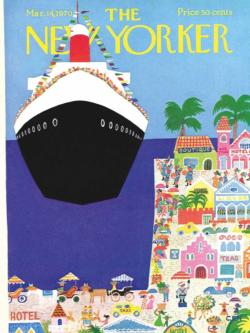 Cruise Ship Magazines and Newspapers Jigsaw Puzzle