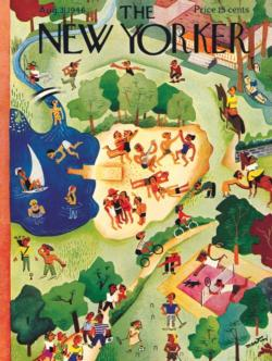 Summer Camp Magazines and Newspapers Jigsaw Puzzle
