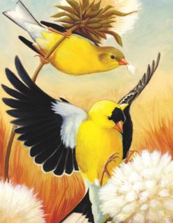 American Goldfinch Mini Birds Miniature Puzzle