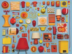 Housewares Collection Pattern / Assortment Jigsaw Puzzle