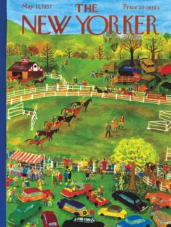 Horse Show Magazines and Newspapers Jigsaw Puzzle