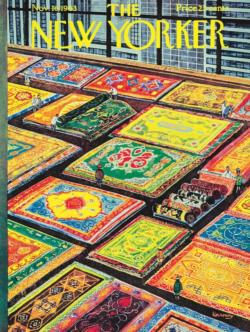 Rug Shopping Magazines and Newspapers Jigsaw Puzzle